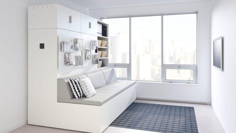 Ny pladsbesparende robot seng fra IKEA